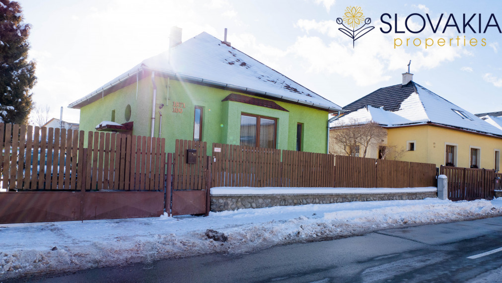 REZERVOVANÉ Rodinný dom v Poprade