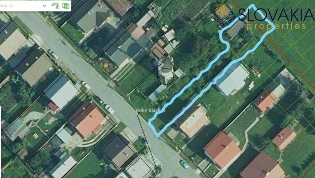 Na predaj pozemok 500 m2